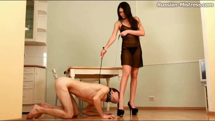 Double blowjob solo mistress gagging