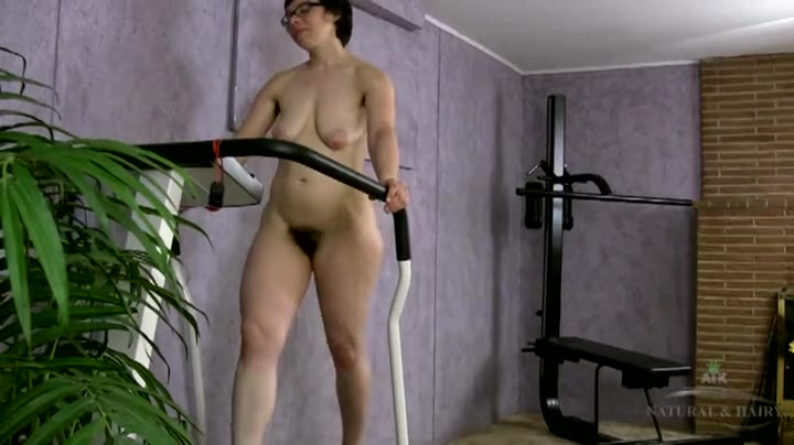 Apologise Girl on treadmill porn can not