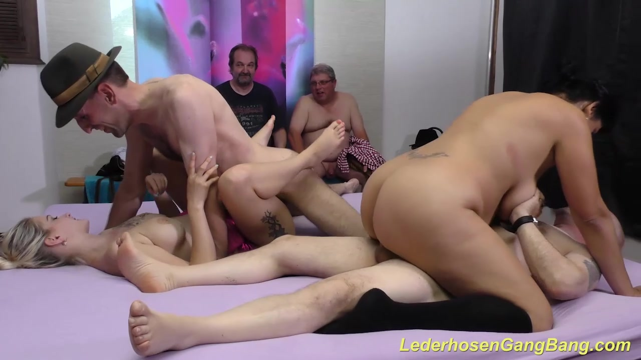 German Amateur Groupsex