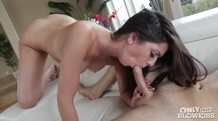 Beautiful girl blowjob have