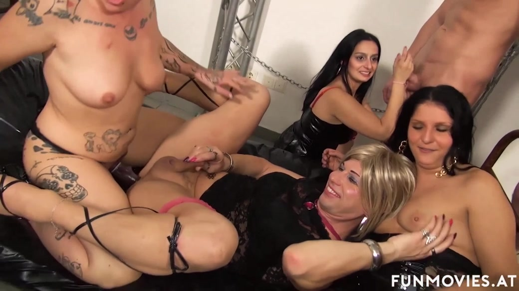 German amateur matures orgy