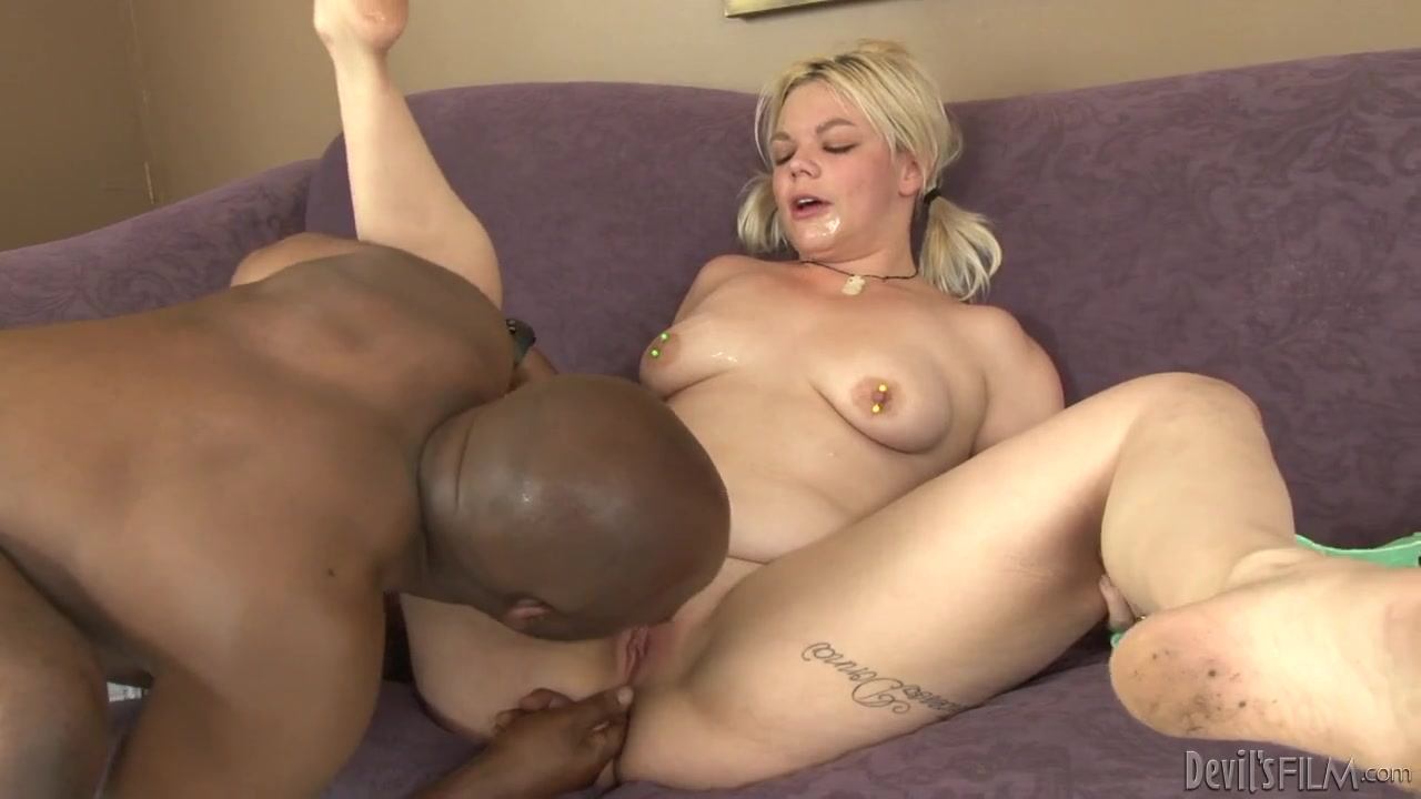 Black Man Cums White Girl