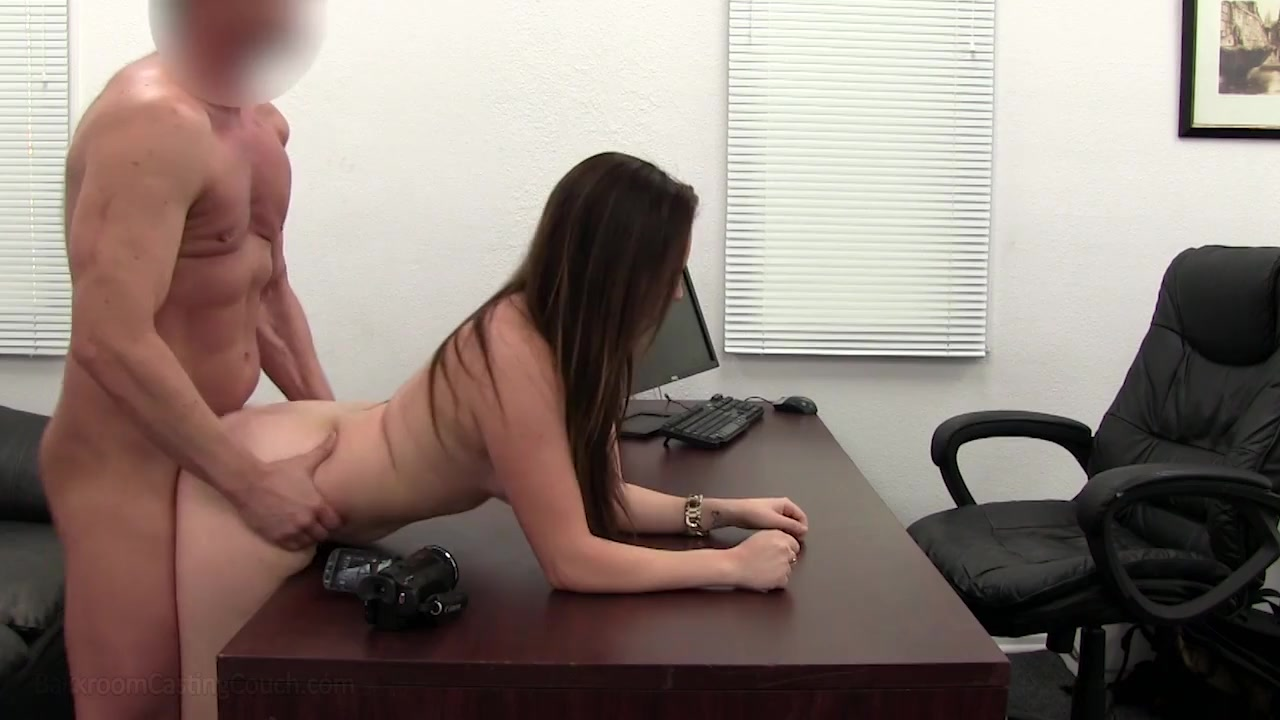 Chubby slut has her first ever porn fuck on film