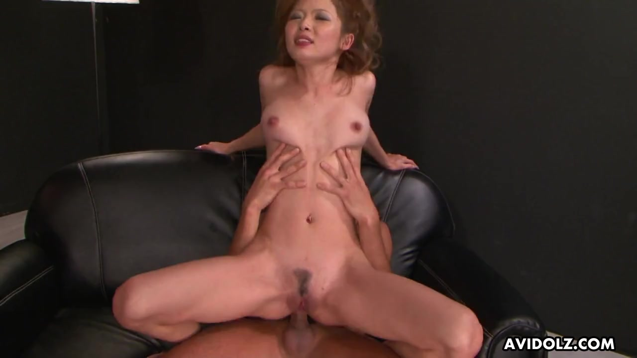 Japanese beauty ass fucked by a rock hard dick