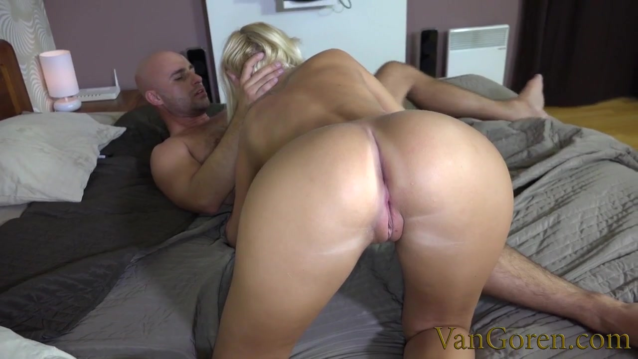 Nice natural titties on a cock loving young blonde girl