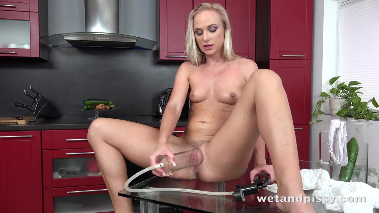 Hot yellow piss poured all over her pretty face