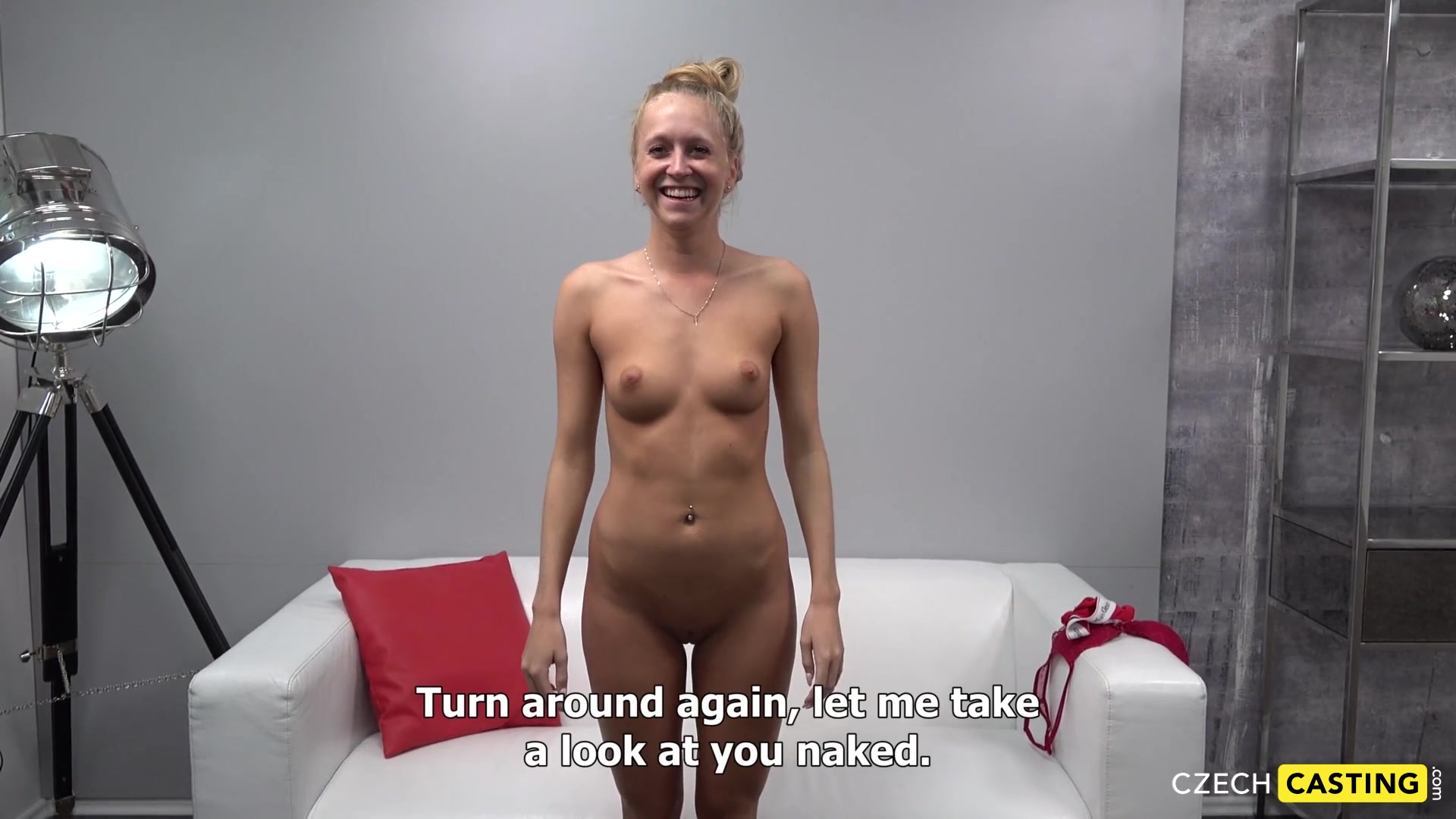 Faithful princess bent over and let him to fuck her after interview