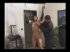 Girl tied up and put in rubber