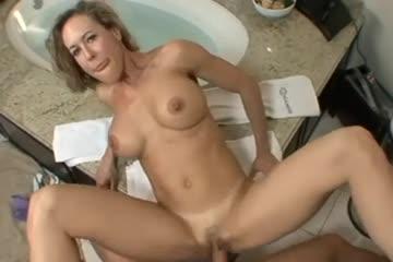 pov bathroom porn