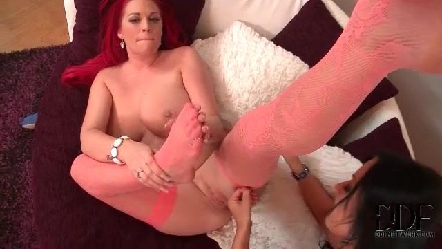 Black White Lesbian Feet